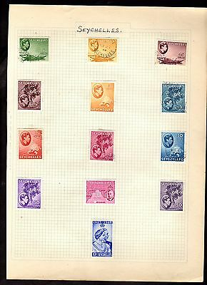 Stamps ~ THE SEYCHELLES ~ Early