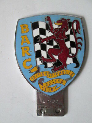British Automobile racing club badge.motor club badge. Car badge. AA. RAC.