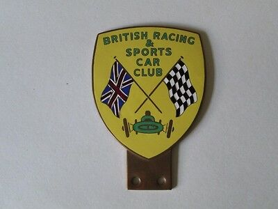 British Racing and sports car club badge.motor club badge.AA. RAC.