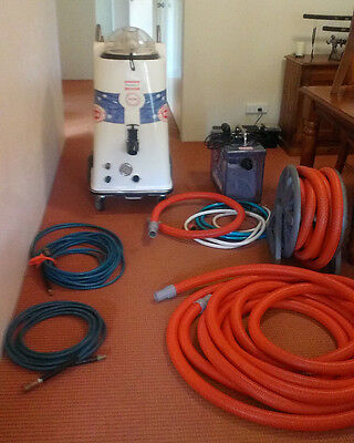 Steamvac RD6 Carpet Extractor with Auto fill + Gulpa pump out