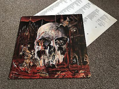 Slayer - South Of Heaven - 1988 Lp With Inner Sleeve Vg - Look In My Ebay Shop!!