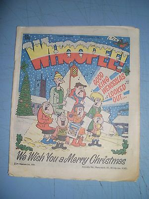 Whoopee issue dated December 25 1982 Christmas issue