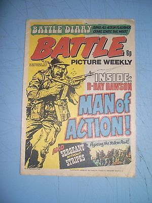 Battle Picture Weekly issue dated September 20 1975