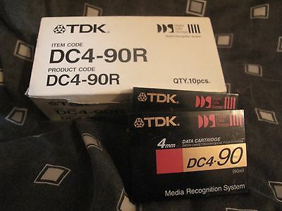 DC4-90R DAT Tapes x12