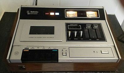 vintage Technics  RS-263US tape player/recorder