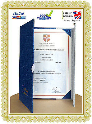 Luxury Certificate Holder, Document Covers, Great for awards & more High quality