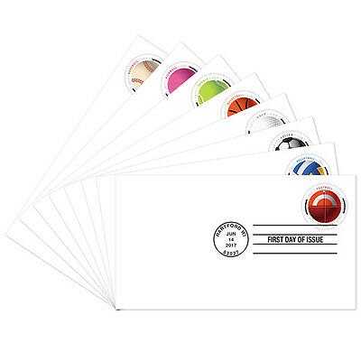 USPS New Have a Ball!  First Day Cover set of 8