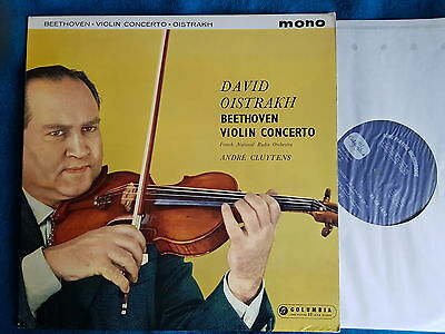 OISTRAKH & CLUYTENS Beethoven Dutch Columbia 33CX 1672 UK-1950s LP NM