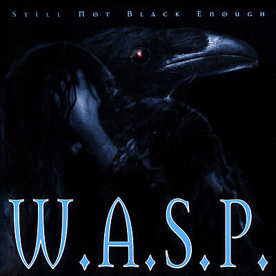 W.A.S.P. Still Not Black Enough LP Limited Edition Very Rare Blackie Lawless