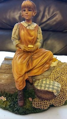 Christine Haworth Figurine Fisherman's Daughter, Leonardo