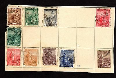 Stamps ~ ARGENTINA ARGENTINIAN ~ Early Unsorted