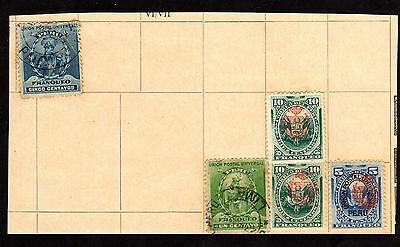 Stamps ~ PERU PERUVIAN ~ Early Unsorted