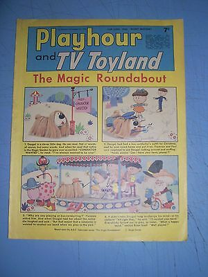 Playhour and TV Toyland issue dated June 15 1968