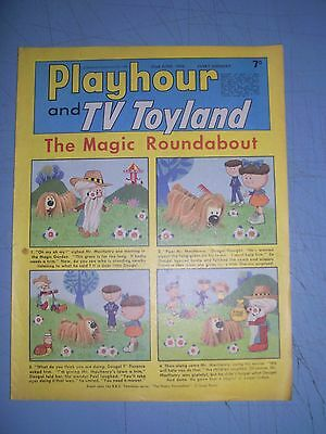 Playhour and TV Toyland issue dated June 22 1968