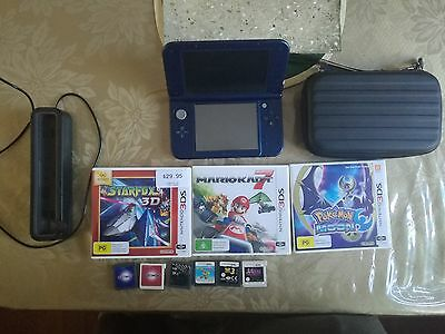 NEW Nintendo 3DS XL, games and accesories