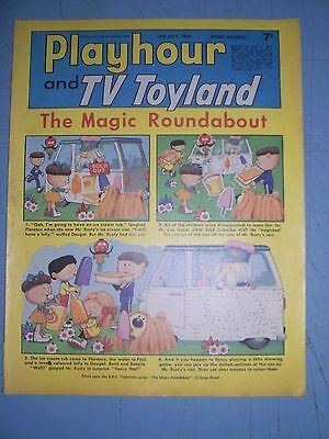 Playhour and TV Toyland issue dated July 13 1968