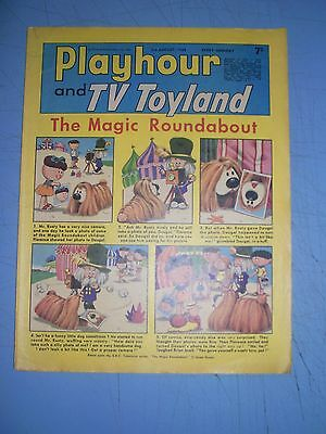 Playhour and TV Toyland issue dated August 3 1968