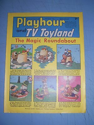 Playhour and TV Toyland issue dated August 10 1968