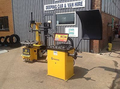 Tyre machine, Tyre Changer, Wheel Balancer.