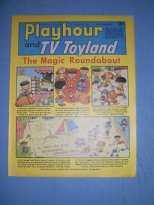 Playhour and TV Toyland issue dated August 17 1968