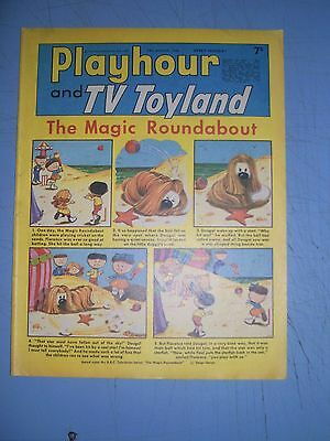 Playhour and TV Toyland issue dated August 24 1968