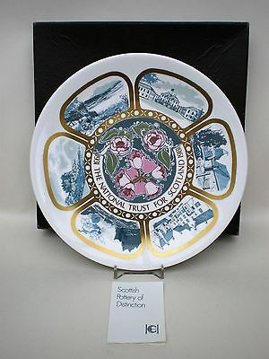 Highland China National Trust Scotland 60th Year  Anniversary Plate 1931-1981