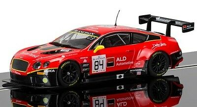 """SCALEXTRIC """"TEAM HTP"""" BENTLY CONTINENTAL GT3 - 24hr SPA 2015 - NEW RELEASE"""