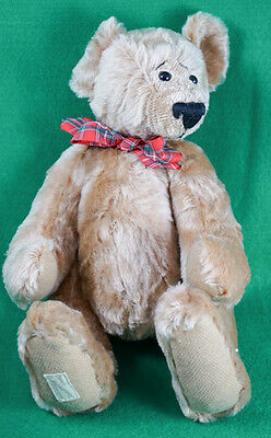 "Dean's Rag Book Mohair 14"" Teddy Bear Jointed Artist Showcase Stephanie Shoen"