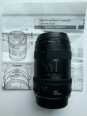 Canon objectif zoom Lens EF 135 mm 1:2.8 softfocus