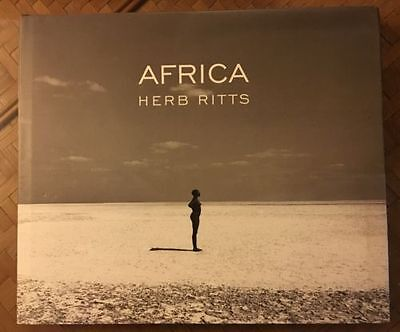 Africa by Herb Ritts - Signed - 1st Edition - Coffee Table size