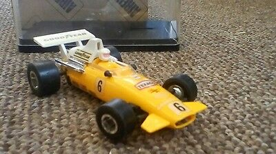 vintage airfix scalextrics car racing car brm cat no 5198 with box