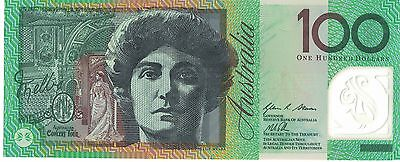 Australian $100 bank note UNC condition prefix 'AA 13'