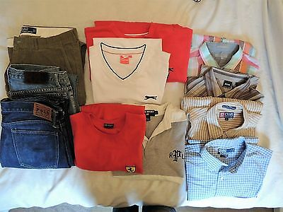 Mens designer clothes bundle all in excellent condition, hardly used.