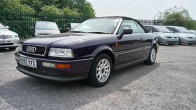Audi Cabriolet 2.6E Manual+Two Tone Leather+Great Condition#modern Classic#