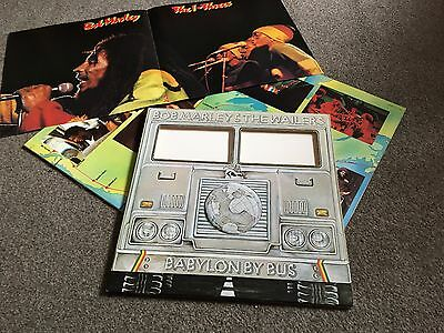 Bob Marley & The Wailers - Babylon By Bus - 1978 Double Lp With Inners & Poster