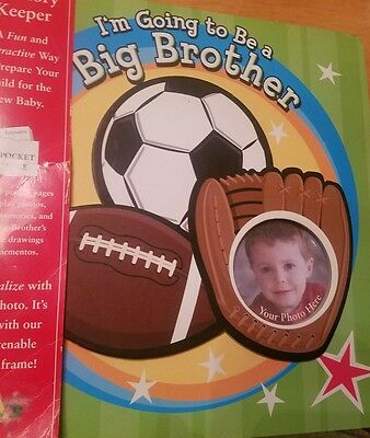 Colorful Photo Album for Big Brother to welcome new baby, over 10 colorful pages