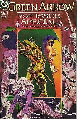 Green Arrow(1988)#75 Anniversary Issue - Arsenal and Shado Appr
