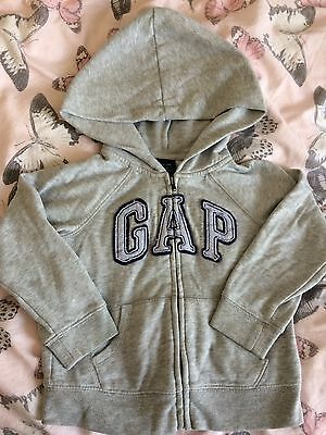 Girl's Baby Gap Hoodie Size 3 Years Grey