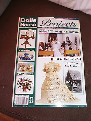 Dolls House Special magazine, projects, Vol 1, issue 2, Wedding theme, lots !!!!