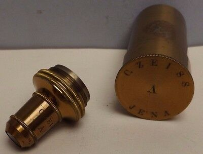 Microscope [ Objective ] Compound { Brass }  Canister [ 1 Inch & 2 Inch ]
