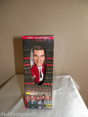 N'Sync 2001 Collectible JC Chasez Bobblehead Best Buy Exclusive Sealed!!!