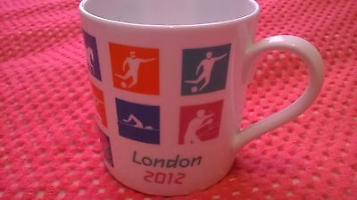 Royal Doulton Official London 2012 Olympic Games Mug Free Delivery New Unboxed