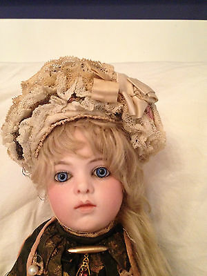 A/0 Antique Doll French Bisque Doll Early Bru Jne 3 Cabinet Sz Bebe 13' Layaway