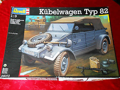 Revell 1/9 Kubelwagen German WW2 jeep model kit