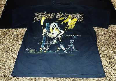 Vintage Cradle Of Filth Shirt Psychopathia Sexualis Dead Girls Don't Say No Rare