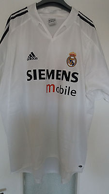 Maillot Zidane Shirt Real Madrid Football Adidas Size Taille XL