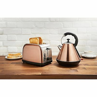 New Goodmans Copper Kettle And Toaster Breakfast Set - Rare Colour.