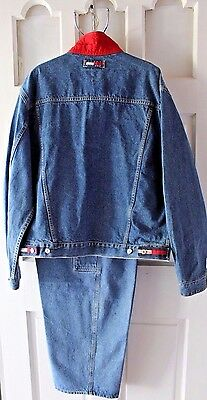 2 Vintage Tommy Hilfiger Items - 2X Jacket and Jeans