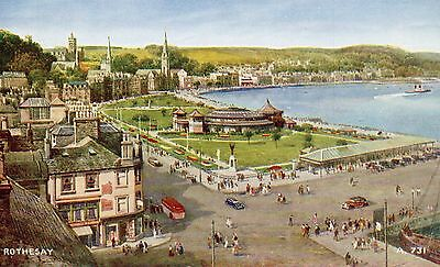 "Vintage Postcard ROTHESAY, ISLE OF BUTE  ""Art Colour"" (Ref: LA)"