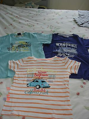 Lot tee-shirt SERGENT MAJOR 7 ans